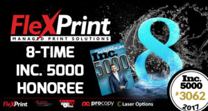 FlexPrint - 8 Time Inc5000 Honoree